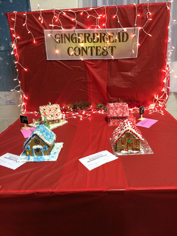 Gingerbread contest