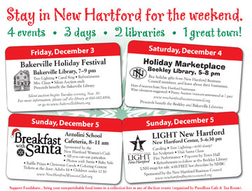 New Hartford weekend